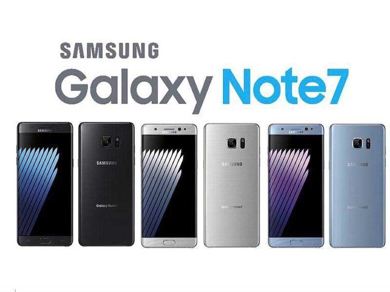 اعلام دلیل انفجار Note 7 تا پایان ژانویه